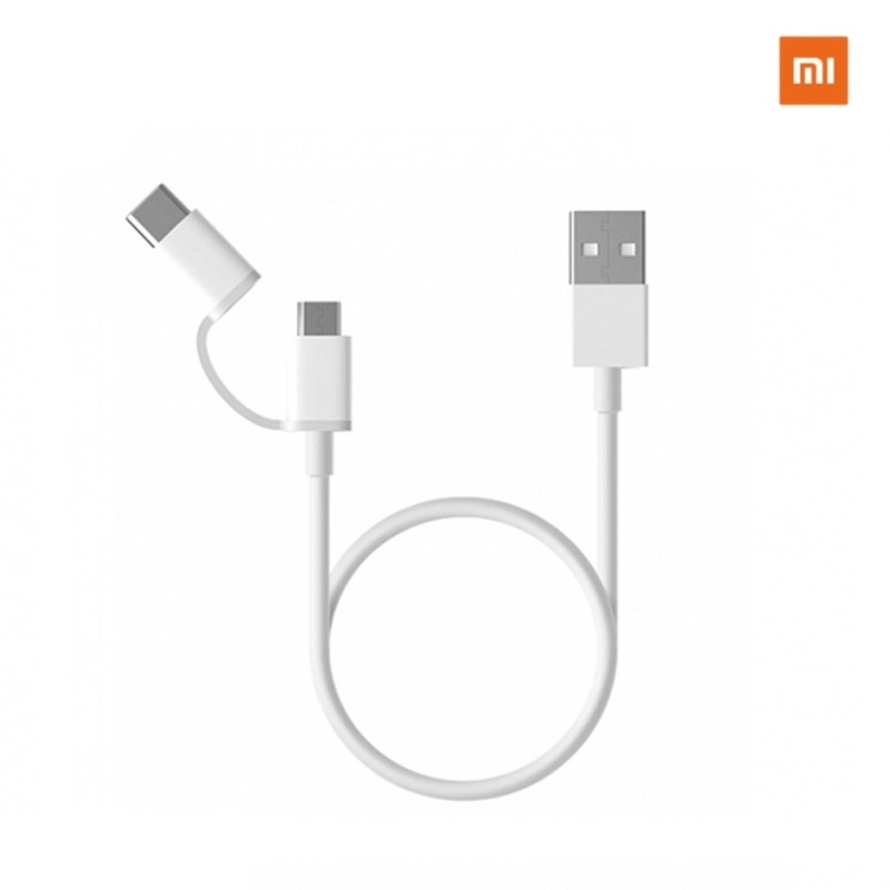 Xiaomi Mi 2-in-1 USB Cable (micro USB to Type-C)