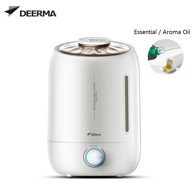 Deerma F500 Shell Design Aroma Essential Oil Air Humidifier 5L