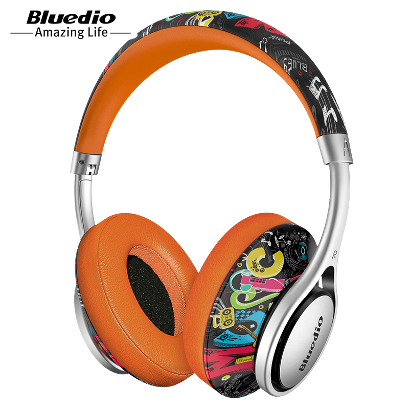 Bluedio A2 Foldable Bluetooth Headphone Headset with Mic