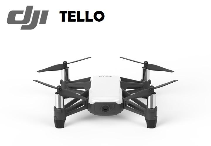 (IMPORT) DJI Tello WiFi FPV HD 5MP 720P Remote Control Quadcopter Drone