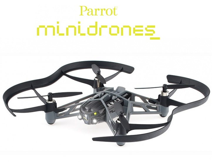 Parrot Airborne Night 3MP VGA Camera App Controller Drone