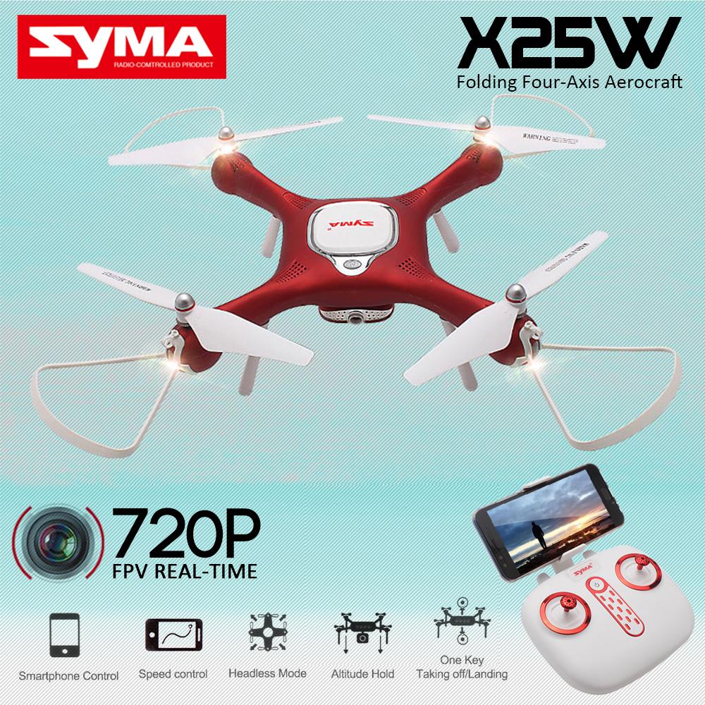 Syma X25W Wifi FPV 720P HD Camera RC Quadcopter Drone