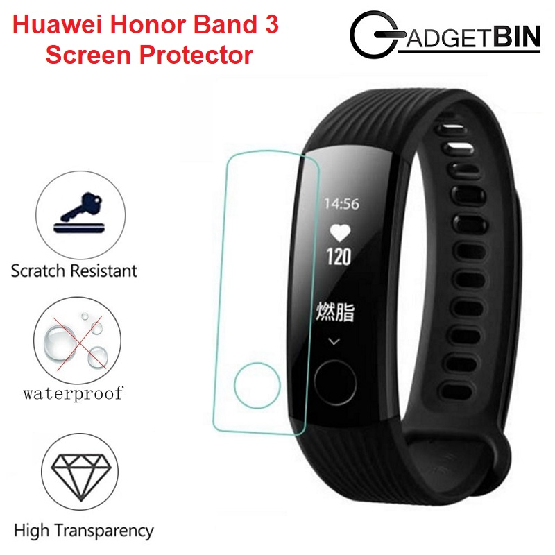 2 Pcs Screen Protector For Huawei Honor Band 3