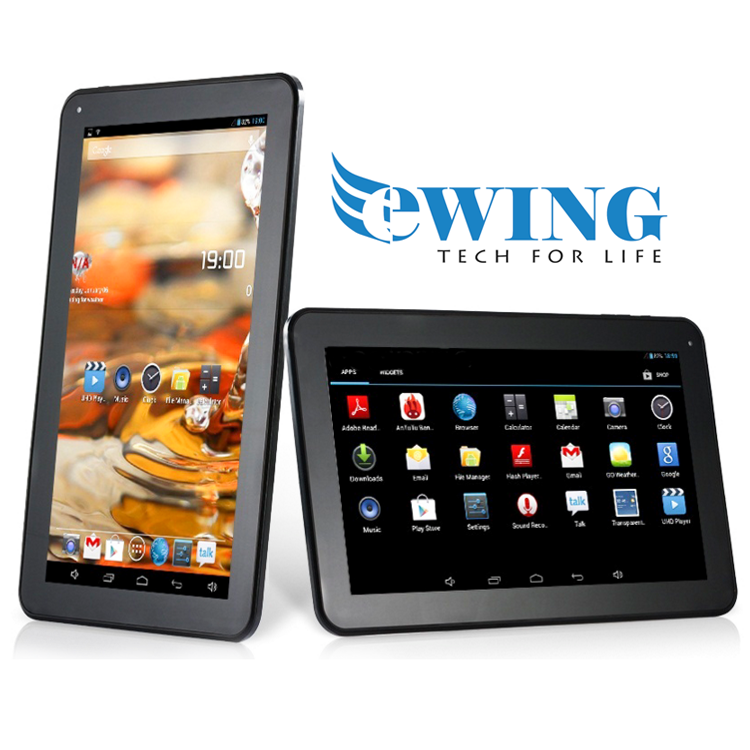EWING 10.1 Inch 1G 8GB A23 Dual Core 1.5Ghz Google Android 4.2.2 Tablet- 2 Colour Options