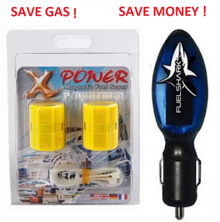 Fuel Shark Neosocket Fuel Saver + Magnetic Fuel Saver (Just Plug & Save)