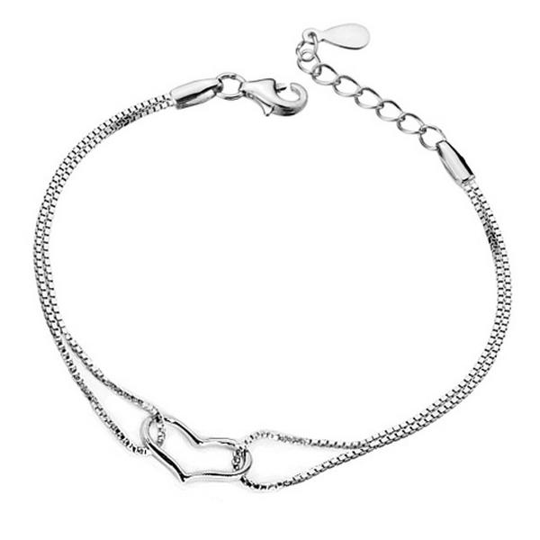 YOUNIQ Lovey Dovey 925 Sterling Silver Bracelet