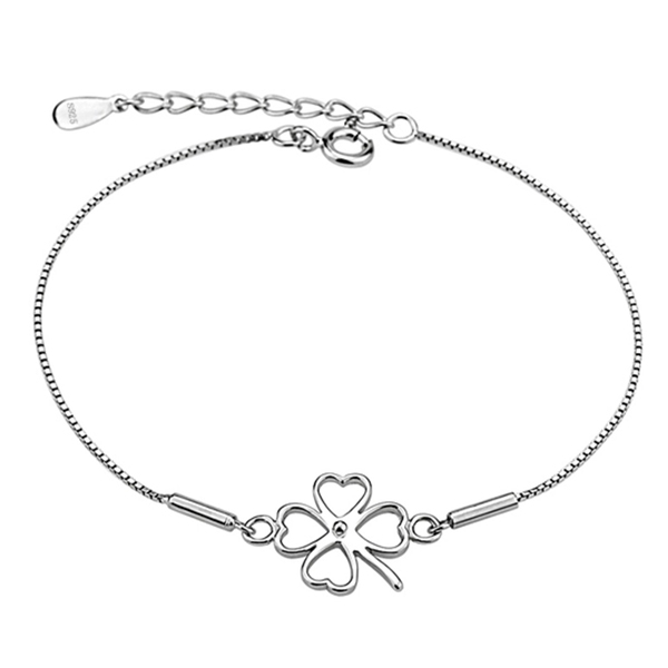 YOUNIQ Lucky Clover 925 Sterling Silver Bracelet