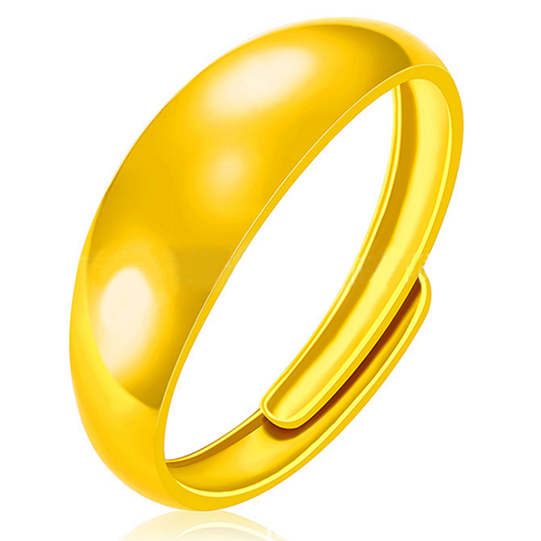 YOUNIQ Premium Smooch 24K Gold Plated Ring