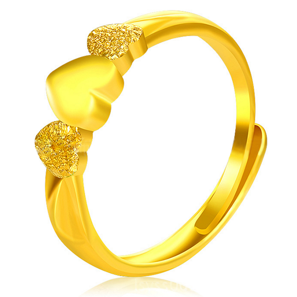 YOUNIQ Premium Eternal 24K Gold Plated Ring
