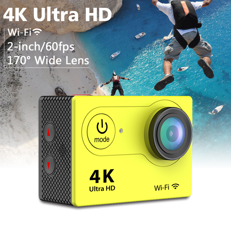 H9 2-Inch LCD Ultra-HD 4K Wifi Sports Action Camera