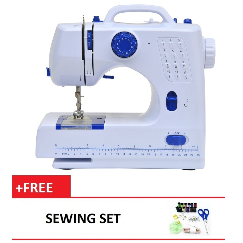 Sewing Machine HL-508A 12 sewing options Free Sewing Set