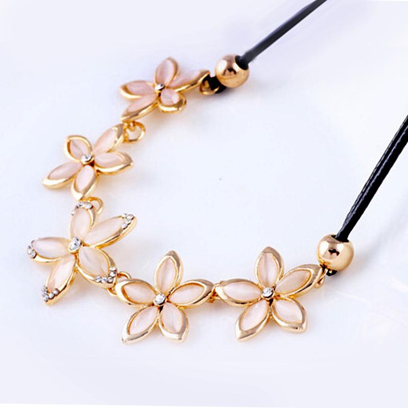 YOUNIQ-Basic Big Blossom Bohemian Women Necklace