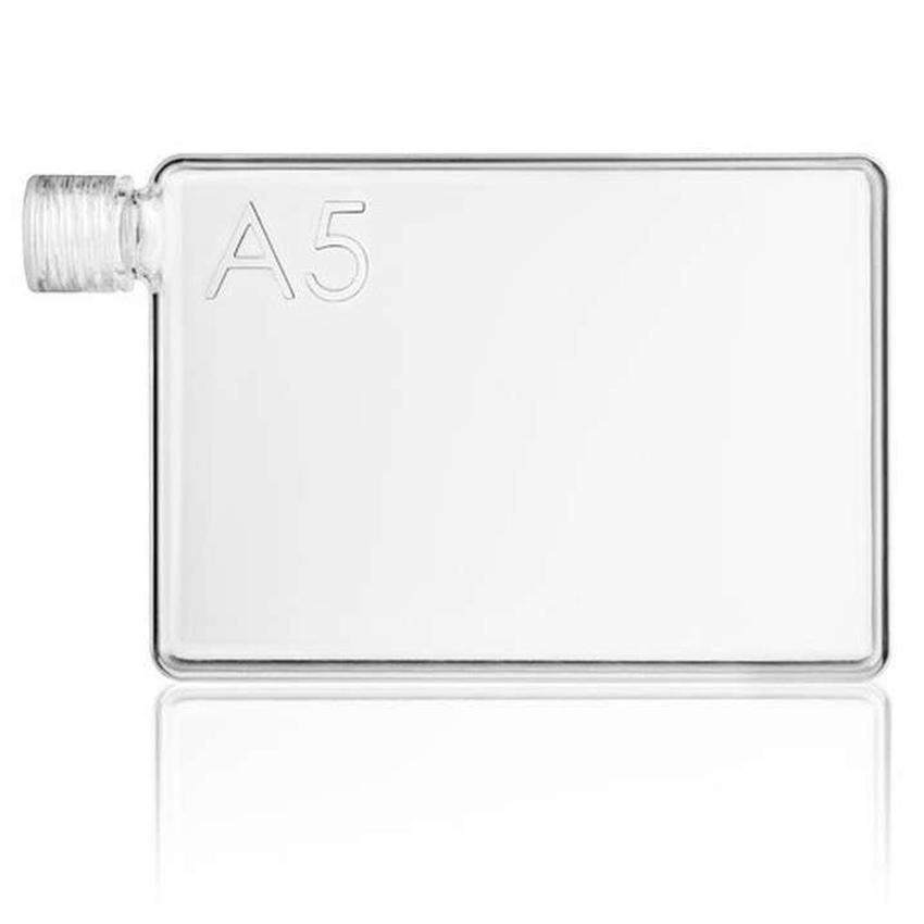 A5 Memobottle Tritan BPA FREE Stylish Memo Water Bottle 750ML