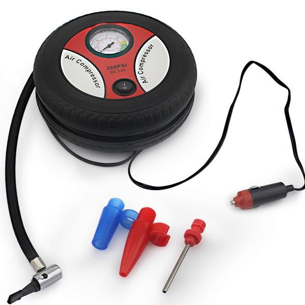Mini Portable Car Air Compressor 260PSI Electric Pump Tire Inflaters Auto Pumps