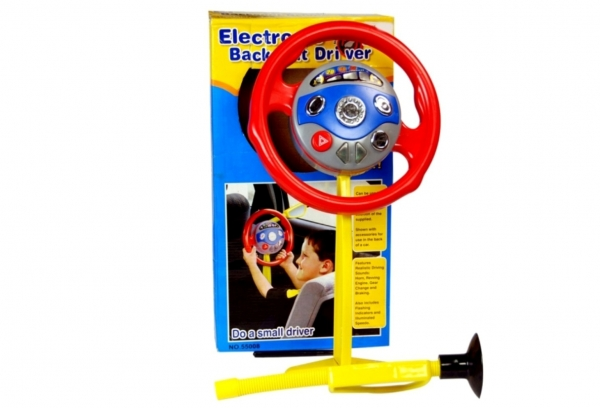 Electronic Backseat Driver Steerling With Light and Sound