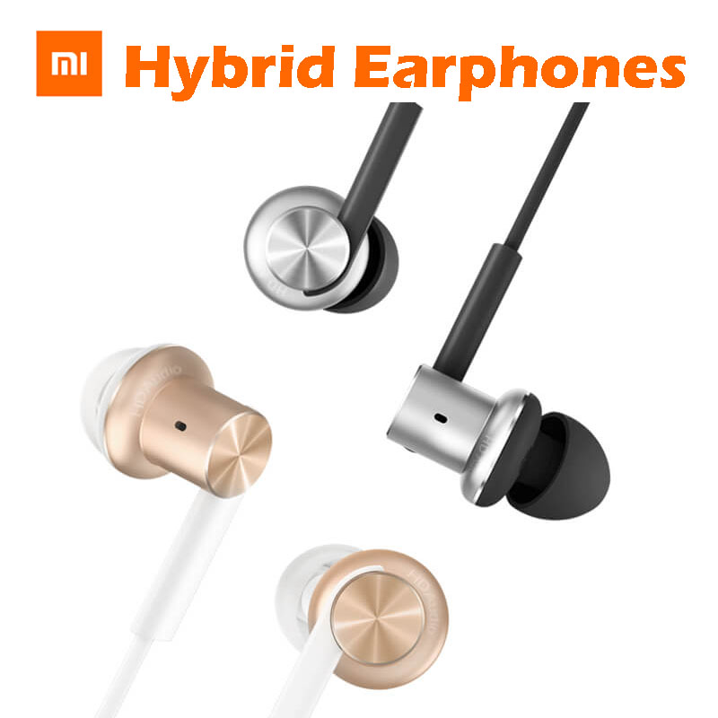 Original Xiaomi Mi Piston V4 Hybrid IEM In-Ear Headphone