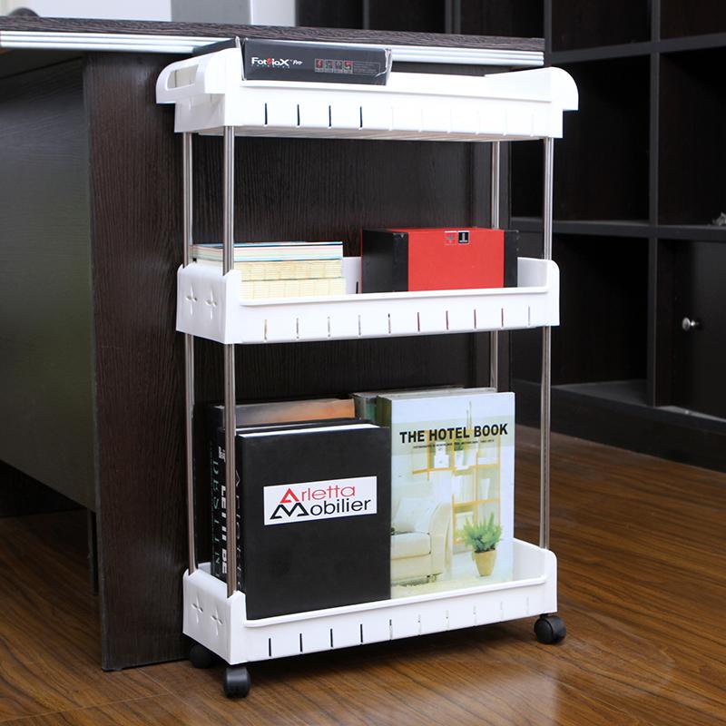 3 Tier Stackable Multipurpose Kitchen Storage Rack