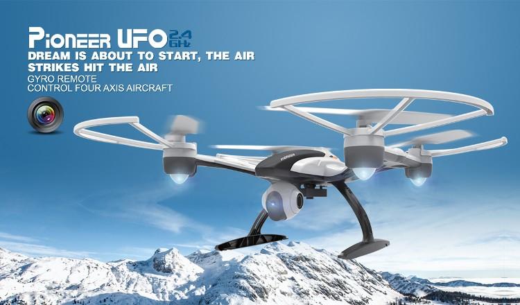 JXD 509V 0.3MP Camera High Hold Mode 2.4G 4CH 6Axis Headless Mode RC Quadcopter