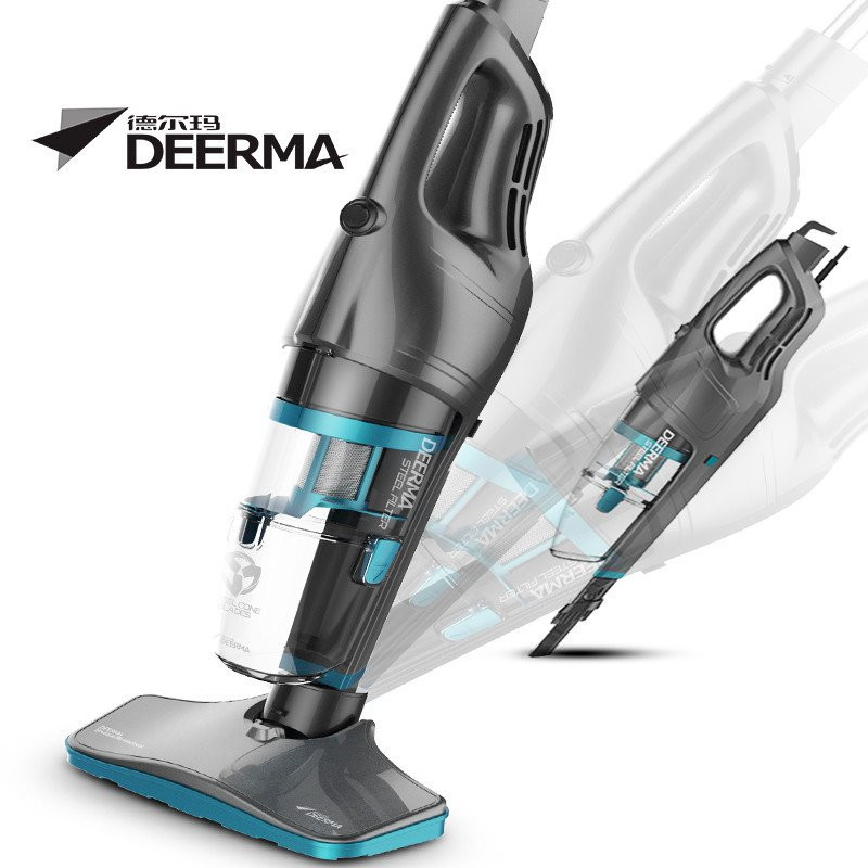 Deerma DX920 Portable Steel Filter Vacuum Cleaner with Mites Cleaning