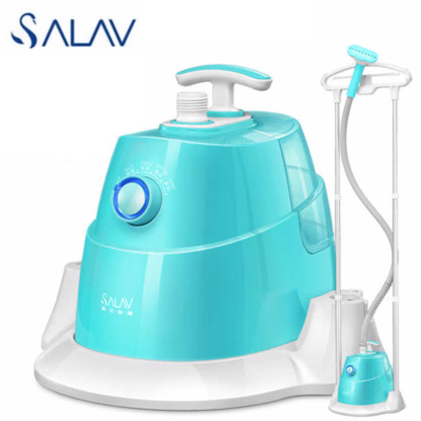 Salav GS026 Dual Bar Adjustable Length 1.5L 1800W Garment Steamer Iron