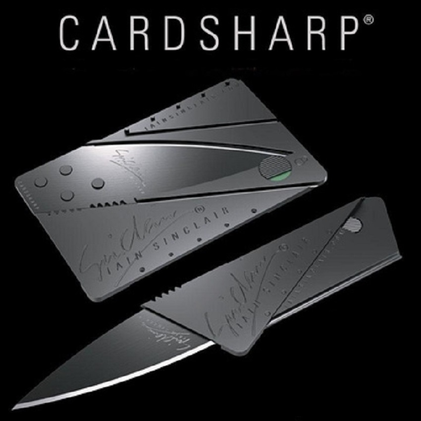 CardSharp Credit Card Size Ultra Thin Multipurpose Folding Safety Knife