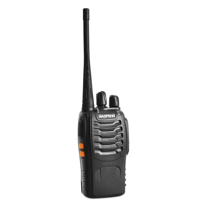 Baofeng BF-888S 16 Channel Walkie Talkie UHF 5W Black