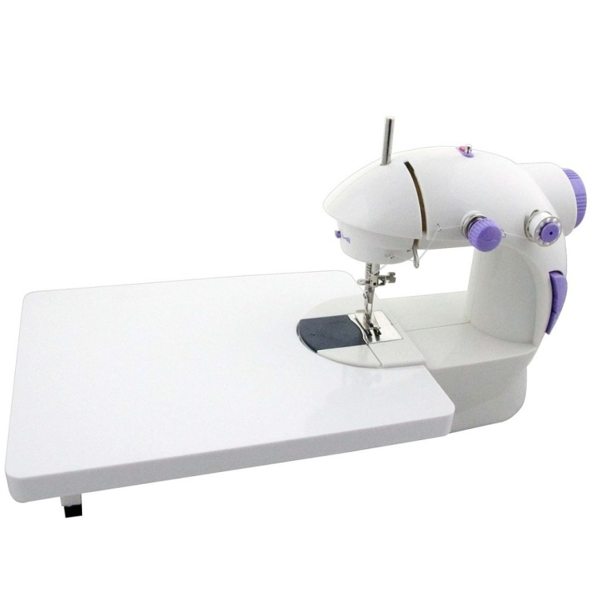 4 in 1 Mini Sewing Machine With Expansion Board (Purple)