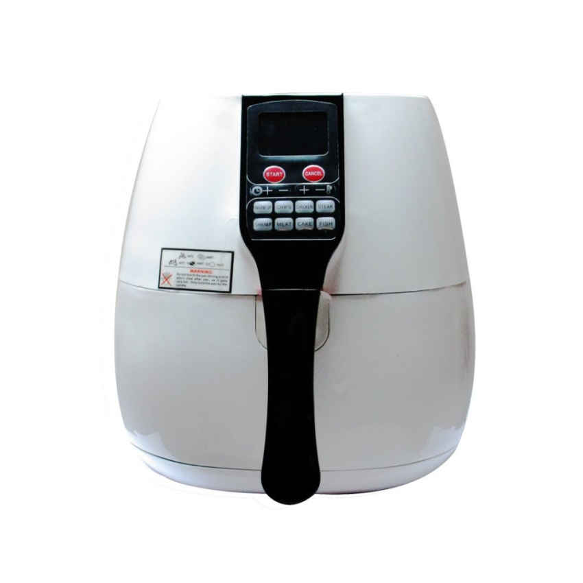 (Msia Plug) 8-in-1 Electric Air Fryer with Digital Programmable Cooking Settings 2.5L - White