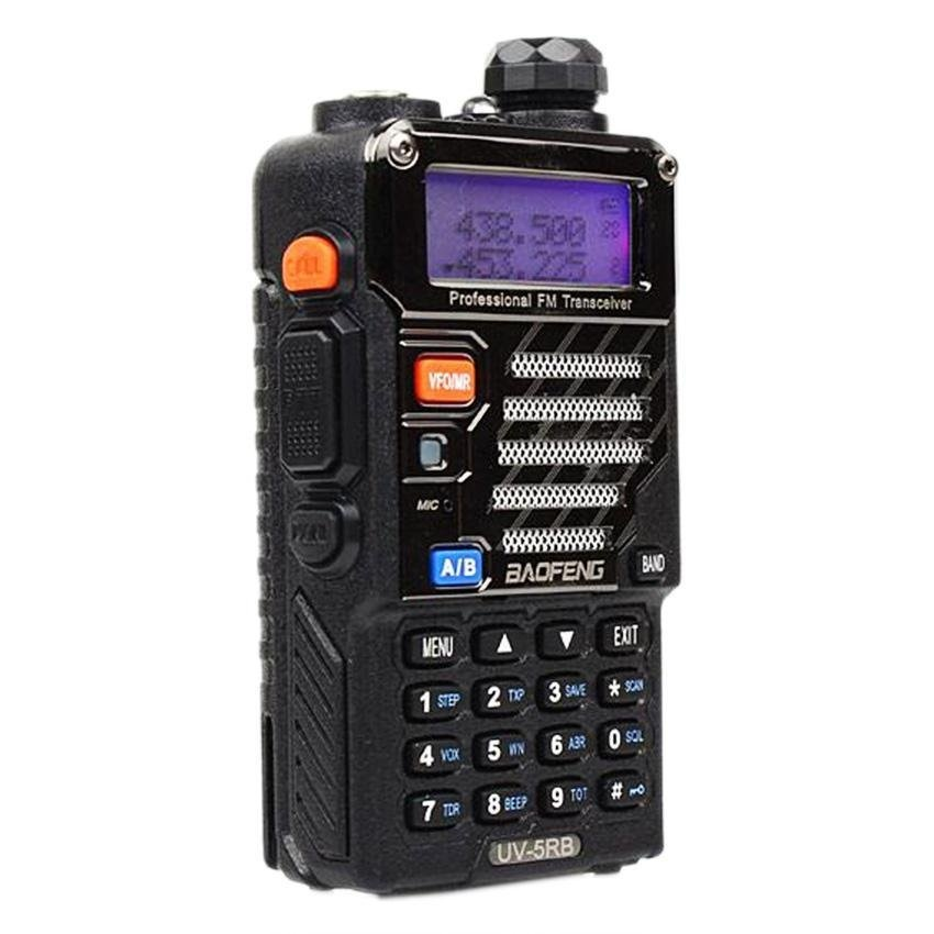Baofeng Uv-5Rb Upgraded Handheld Walkie Talkie Uhf Vhf