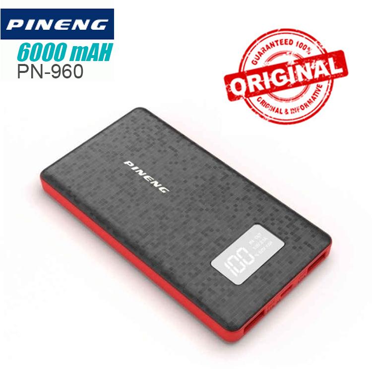 Pineng PN-960 6000mAh Power Bank (Black)