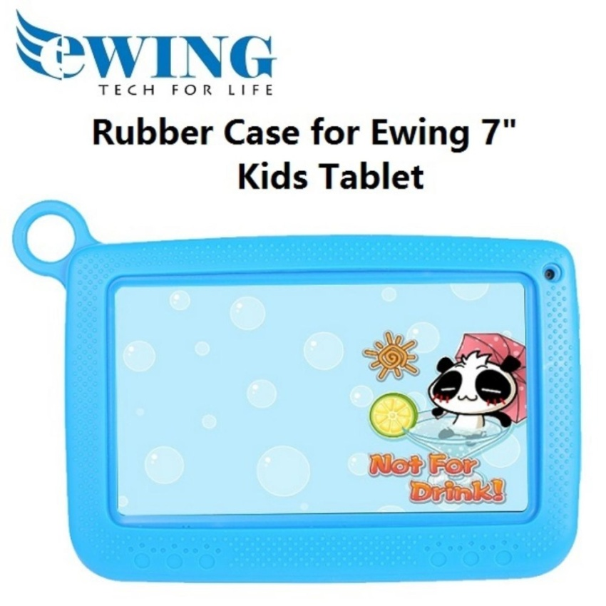 "Rubber Cover for Ewing 7"" Kids Tablet"