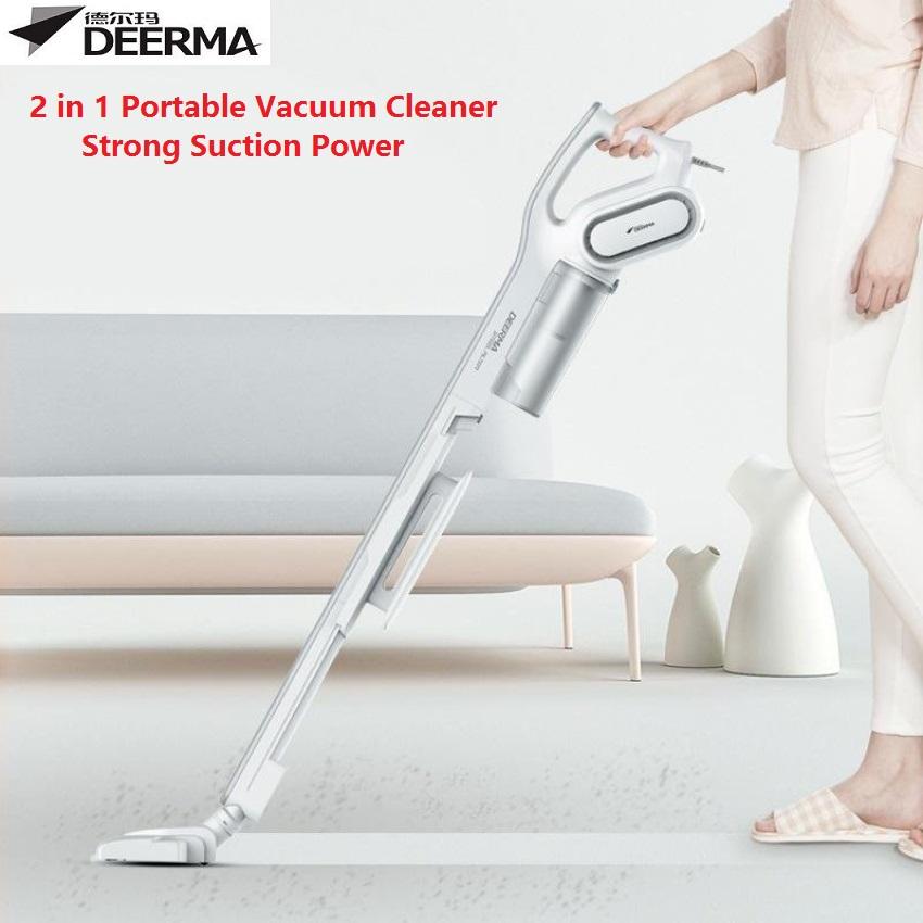 Deerma DX700 2in1 Portable Handheld Strong Suction Vacuum Cleaner