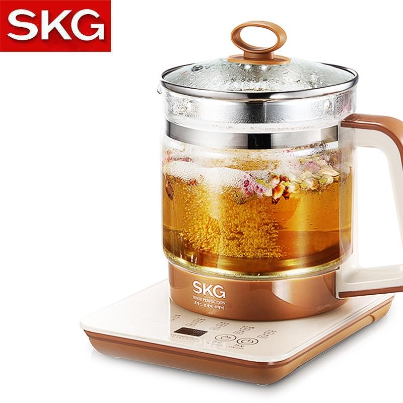 SKG 8056 Automatic Multifunction 12 Functions Health Pot Tea Pot 1.5L (Brown)